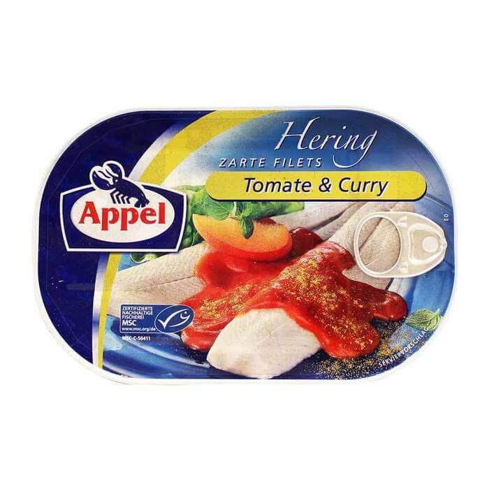 Appel Herring In A Tomato Curry Sauce 200g