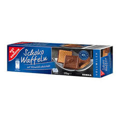 Gut And Gunstig Milk Chocolate Wafer Biscuits 175g