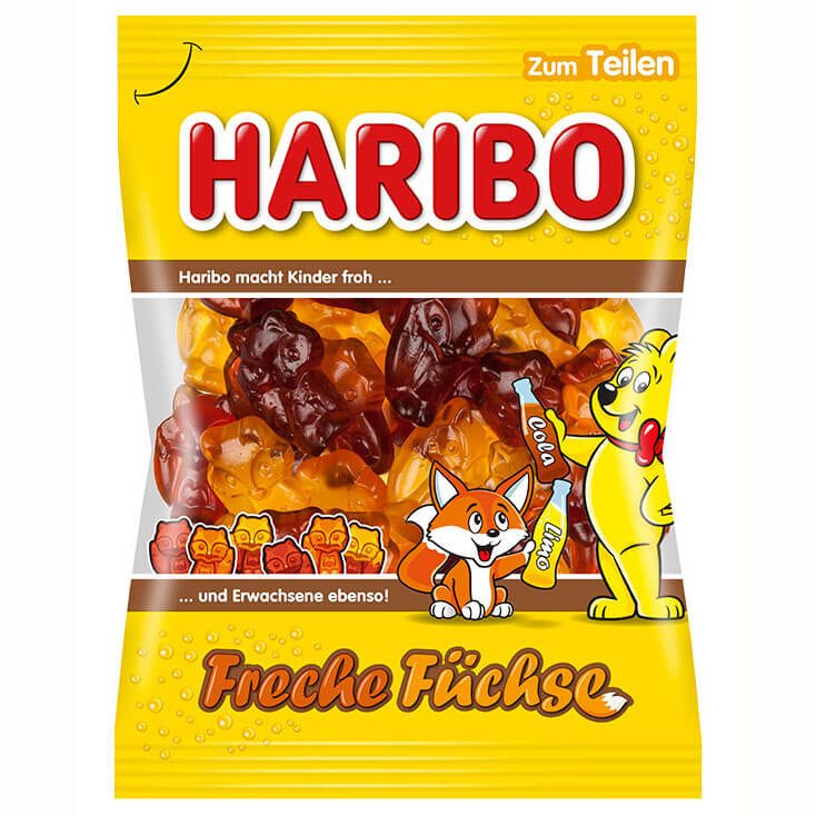 Haribo Cola and Soda Gummies 200g