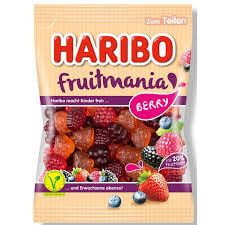 Haribo Fruitmania Berry Flavors 175g