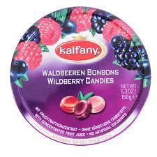 Kalfany Wildberry Flavored Hard Candies 150g