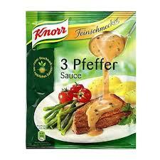 Knorr Three Pepper Sauce 40g
