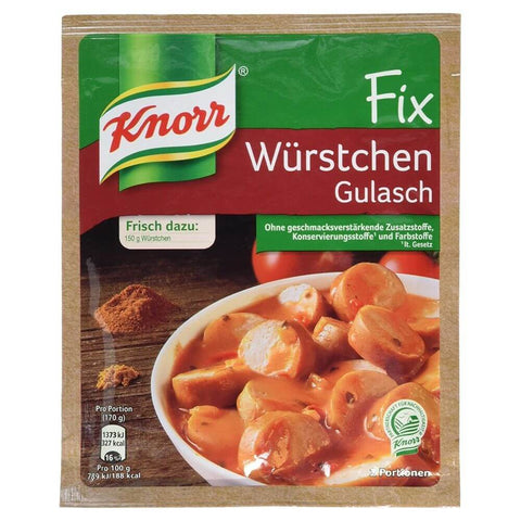 Knorr Fix Sausage Gulasch Mix 29g