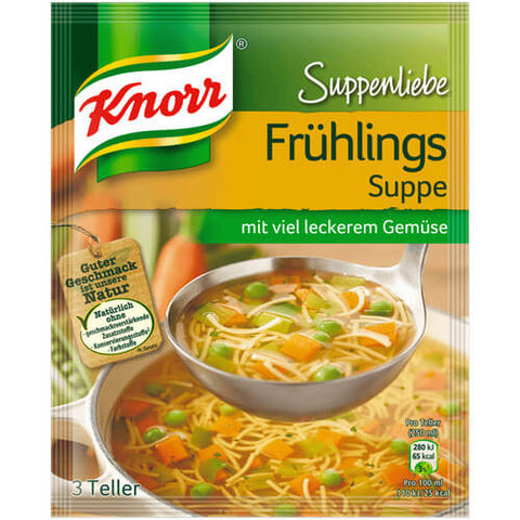 Knorr Spring Soup with Lots of Fresh Vegetables 62g