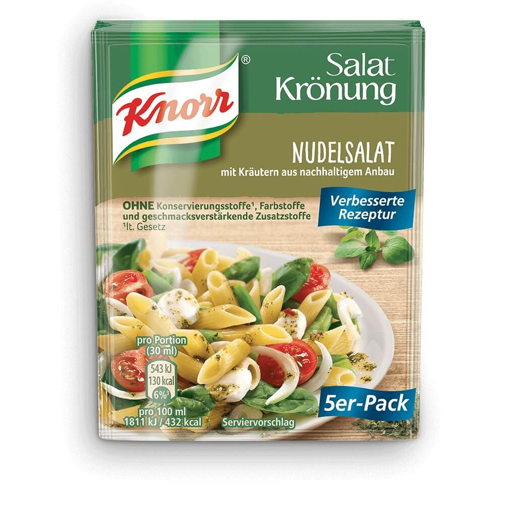 Knorr Pasta Salad Dressing (Pack of 5) 40g