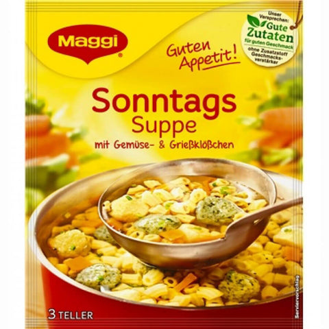 Maggi Sunday Soup (3 Portions) 57g