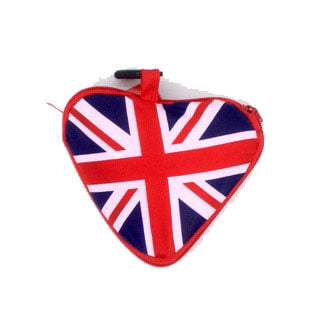 British Brands Shopping Bag - Union Jack Heart Fold Up Bag 25g