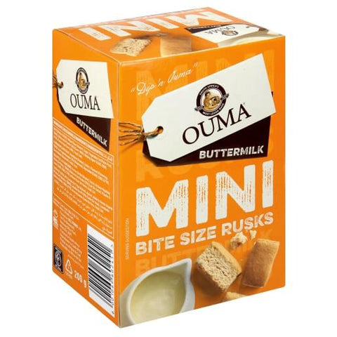 Nola Ouma Rusks - Buttermilk Mini Bites Chunky  200g