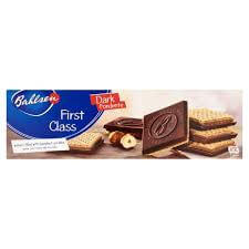 Bahlsen First Class Dark Chocolate cookies 125g