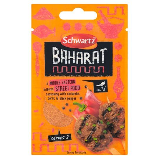 Schwartz Baharat Street Food Seasoning 13g