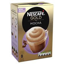 Nestle Nescafe - Gold Mocha Mix (Pack of 8 Sachets) 176g