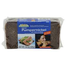 Mestemacher Pumpernickel Bread with Whole Rye Kernels 500g