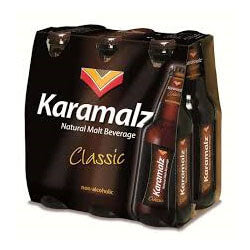 Karamalz Malt Beverage - Classic (Item Ciontains 6 Bottles) 1980ml