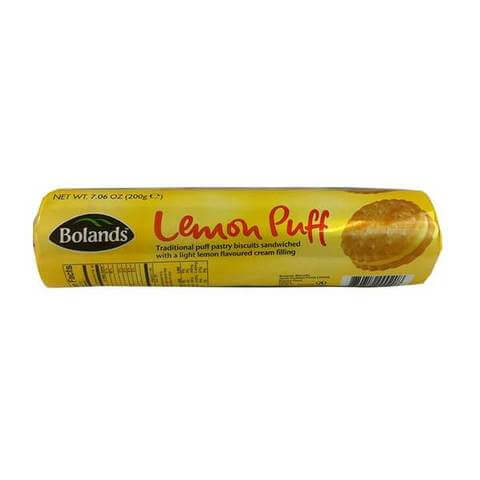 Bolands Lemon Puffs 200g