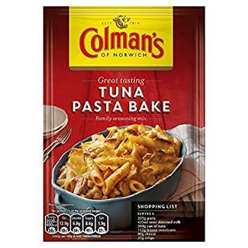 Colmans Seasoning Mix - Tuna Pasta Bake 44g