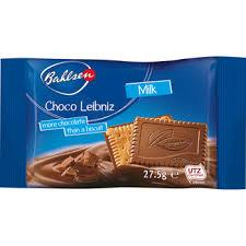 Bahlsen Milk Choco Leibniz (Item Includes 2 Cookies) 28g
