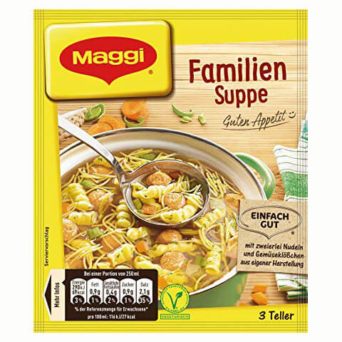 Maggi Family Soup Makes 750ml