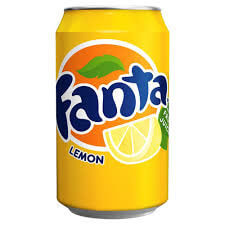 Coca Cola Fanta - Lemon (UK) 330ml