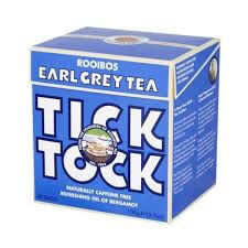Tick Tock Earl Grey Rooibos Tea 100g