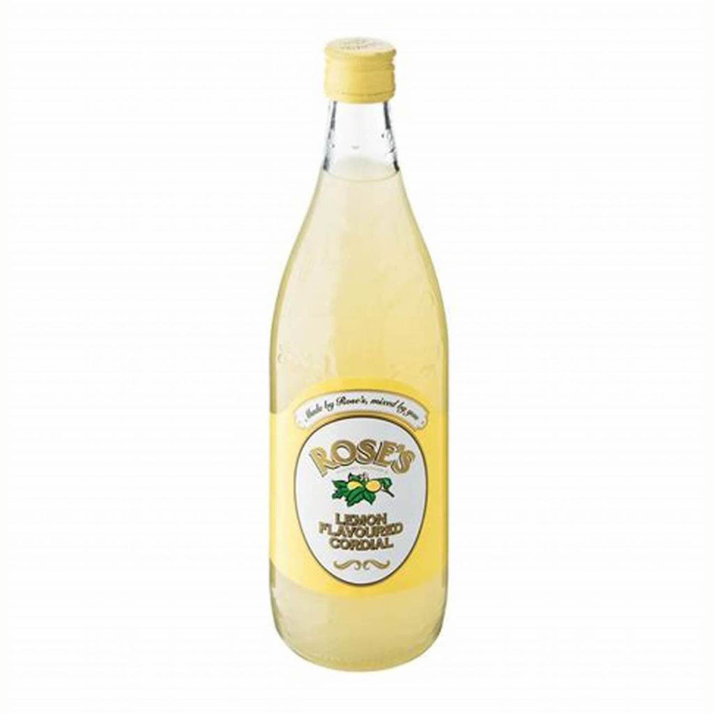 Roses Cordial -Lemon (LIMIT 1 PER ORDER) 750ml