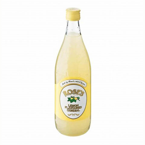 Roses Cordial -Lemon (LIMIT 6 PER ORDER) 750ml