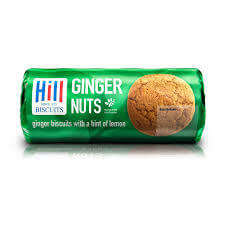 Hill Biscuits - Ginger Nuts 250g