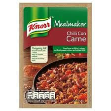 Knorr Mealmaker - Chilli Con Carne Sauce Mix 50g