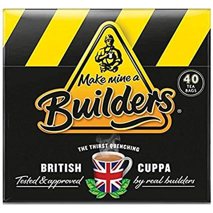 Builders Tea - Decaf (Pack of 40 Teabags) 125g