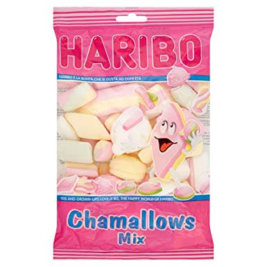Haribo Chamallows Mix (Marshmallows) 225g