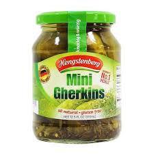 Hengstenberg Mini Gherkins 370ml