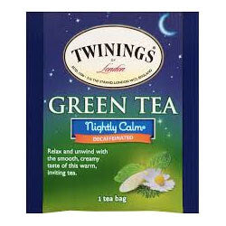 Twinings of London Tea - Green Tea Nightly Calm Herbal (Pack of 20 Tea Bags) 40g