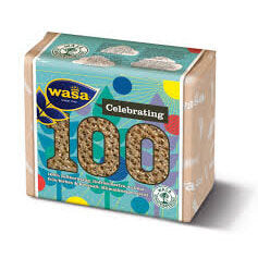 Wasa Crispbread - Thin Rye Celebrating 100 Years Packaging 245g