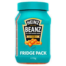 Heinz Baked Beans - Fridge Pack 1000g