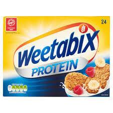 Weetabix Cereal - Protein (Pack of 24 Biscuits) 508g