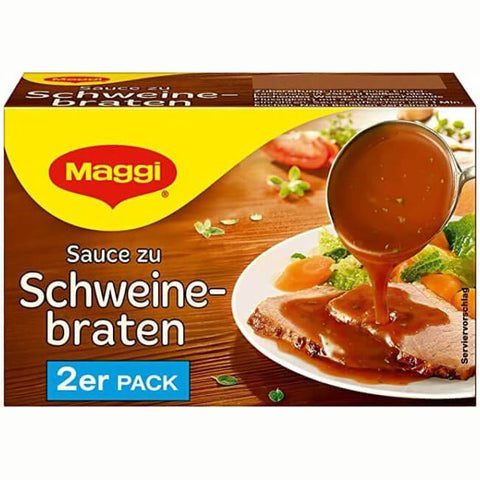 Maggi Gravy for Pork (Item includes 2 Packs) 80g