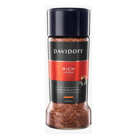 Davidoff Cafe Rich Aroma Instant Coffee Jar 100g
