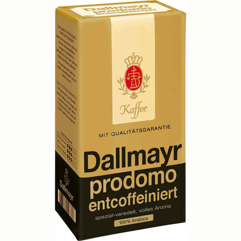 Dallmayr Prodomo Premium Decaf Coffee Ground 250g