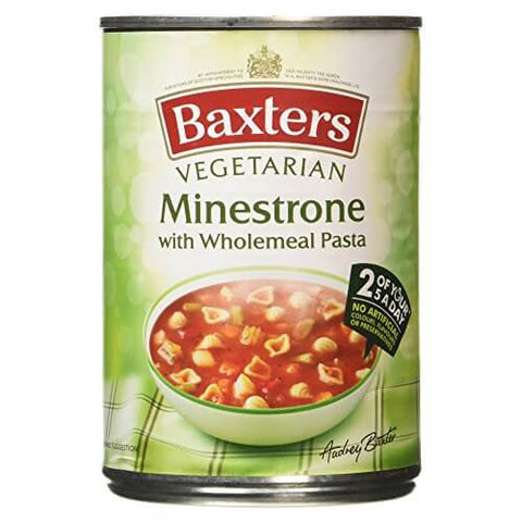 Baxters Soup - Vegetarian Minestrone 400g