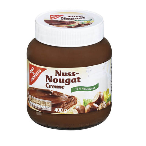 Gut and Gunstig Nuss Nougat Creme Jar 400g