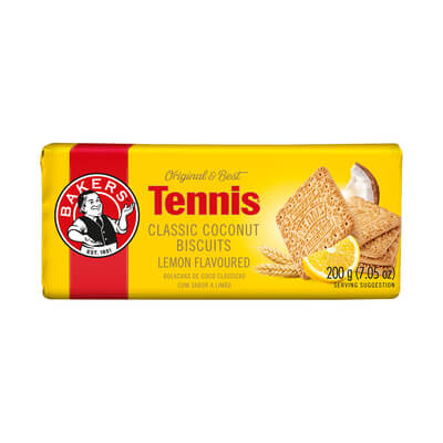 Bakers Tennis - Lemon 200g