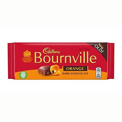 Cadbury Bournville - Orange Bar 100g
