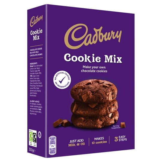 Cadbury Chocolate Cookie Mix 265g