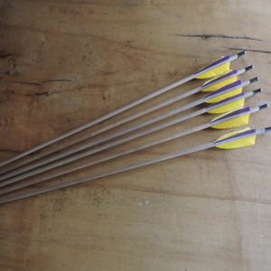 Quality wooden arrows
