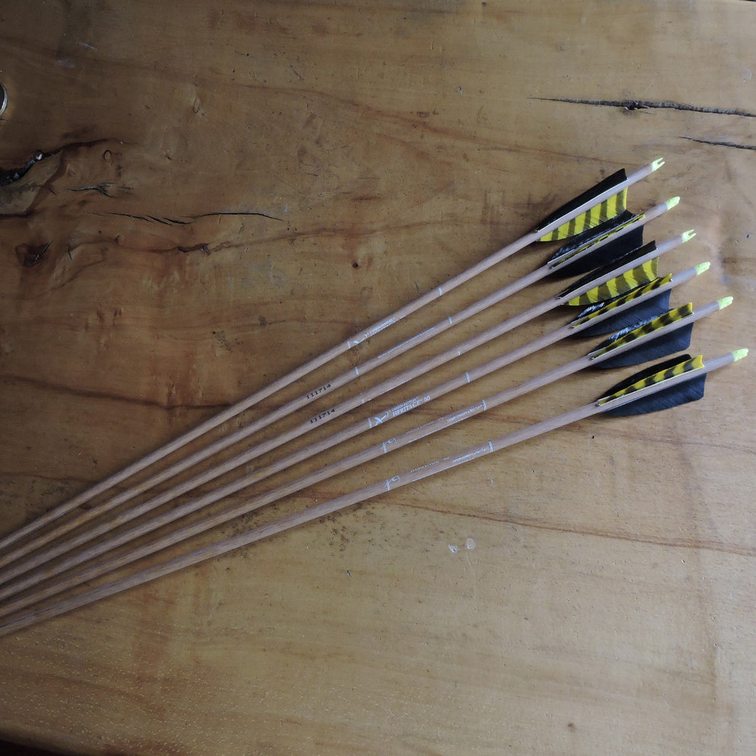 Heritage Carbon Arrows