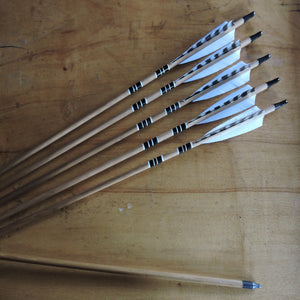 Highly Matched Wooden Arrows