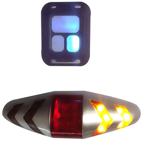 Bicycle Taillight + Turn Signal (Wireless)