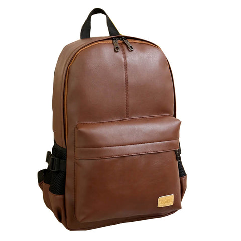 Leather Mens Backpack