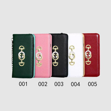 GUCCI(グッチ) 手帳型  iPhone XS Max、XS、XR、X、7/8、7/8 Plus、6/6s、6/6s Plus ケース 5色