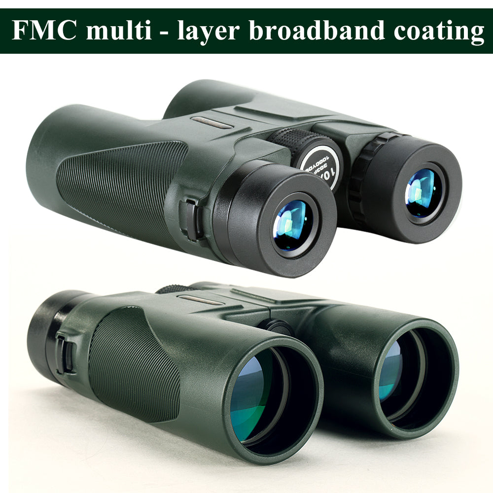 USCAMEL 10x42 Binoculars in Army Green!