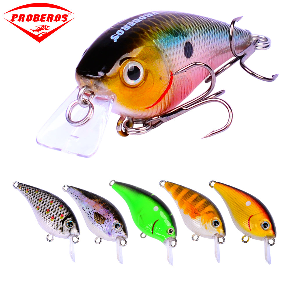 Set of Six Squarebill Crankbaits!